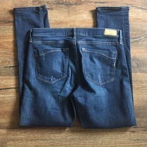 Express Jeans - Express Super Skinny Mid Rise Jeans Stretch 12R.